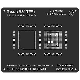 QianLi BGA Stencil Template - A11 CPU Module - iPhone 8 - S500