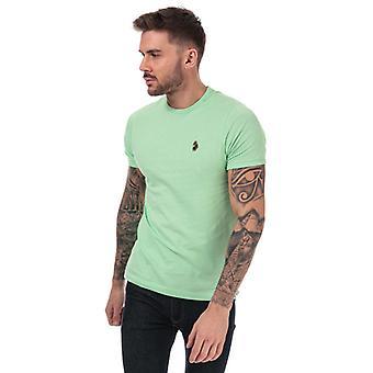 Men's Luke 1977 Trouser Snake Crew Neck T-Shirt en vert