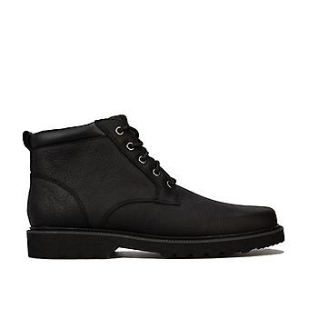 Men's Rockport Main Route Plain Toe Boots in Black