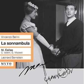 Bellini / Callas / Bernstein / La Scala - La Sonnambula [CD] USA import