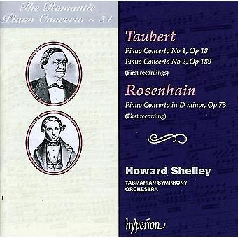 Taubert/Rosenhain - The Romantic Piano Concerto, Vol. 51: Taubert, Rosenhain [CD] USA import