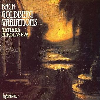 J.S. Bach - Bach: Goldberg-variationer [CD] USA import