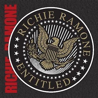 Richie Ramone - Entitled [CD] USA import
