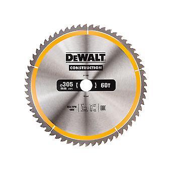 DEWALT Construction Circular Saw Blade 305 x 30mm x 60T DEWDT1960QZ