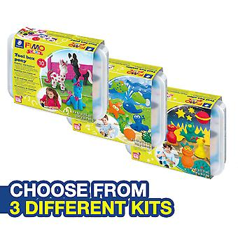FIMO KIDS MAKE AND CREATE TOOL BOX KIT - CHOOSE FROM 3 DIFFERENT KITS