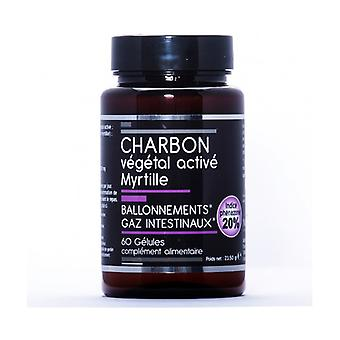 Activated Vegetable Charcoal + Blueberry 60 capsules