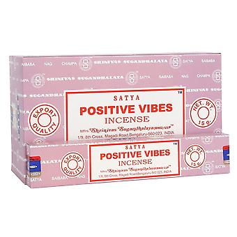 Something Different Satya Positive Vibes Incense Sticks (Box Of 12 Packs)