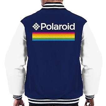 ポラロイド スペクトラム ロゴ メン&アポス;s バーシティ ジャケット