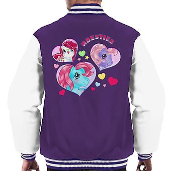 My Little Pony Hashtag Besties Men's Varsity Jacket