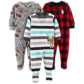 Simple Joys de Carterăs Boysă Toddler 3-Pack Loose Fit Flame Resistant Fleece...