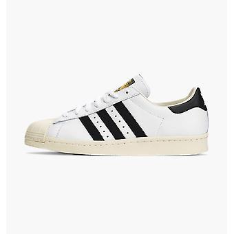 Adidas Superstar 80S Men-apos;S White/Black/Chalk Shoes Boots