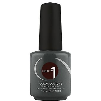 Entity Beauty LED & UV Curable Gel Polish - Leather And Lace 15ml (15489)