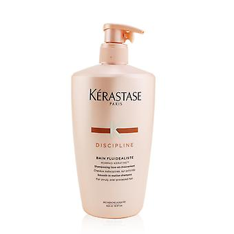 Discipline bain fluidealiste smooth in motion shampoo (for unruly, over processed hair) 251877 500ml/16.9oz