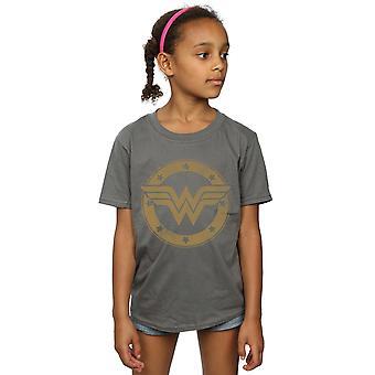 DC Comics Girls Wonder Woman Shield T-paita