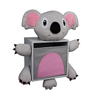 BP4020KO, Danya B Plush Koala Bear Kids Wall Storage  Bin