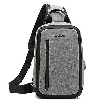 Men's Casual Fashion Brusttasche für Reise und Geschäft