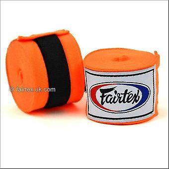 Fairtex hand wraps - 4.5m - orange