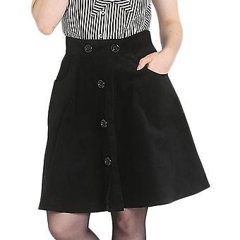 Hell Bunny Wonder Years Mini Skirt
