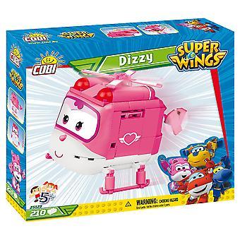 Cobi Super Wings Dizzy Airplane Kids Blocks Bricks 170Pc Compatible Age 5+