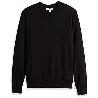 Merk - Goodthreads Men's Lightweight Merino Wool Crewneck Sweater, Bl...