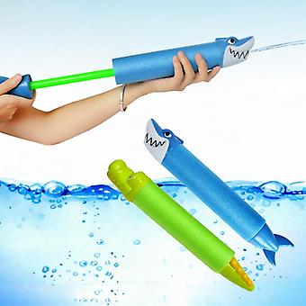 Foam Water Pistol Shooter Super Cannon Kids Toy For Beach Pencil Shark