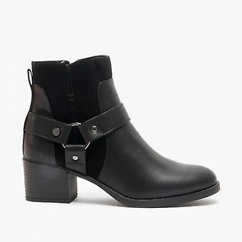 rakett hund lex damer ankel boots svart