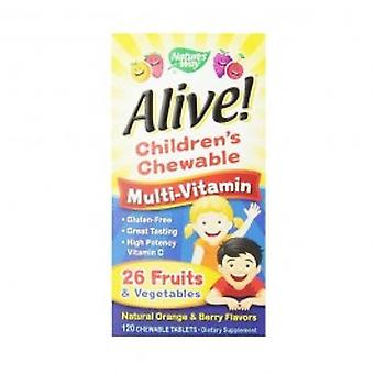 Nature'S Way - Alive! Childrens Chewable OAD 30 tablet