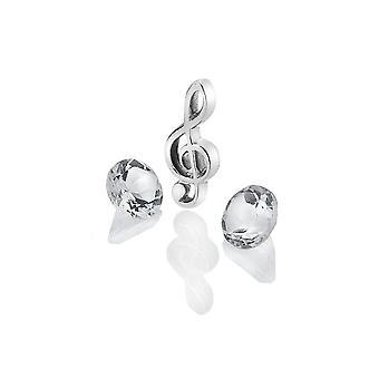Anais Hot Diamonds Anais Silver Treble Clef Charm AC122