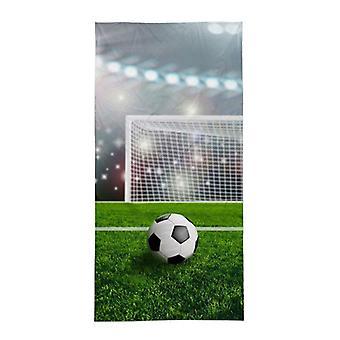 Voetbal Doel Strandhanddoek