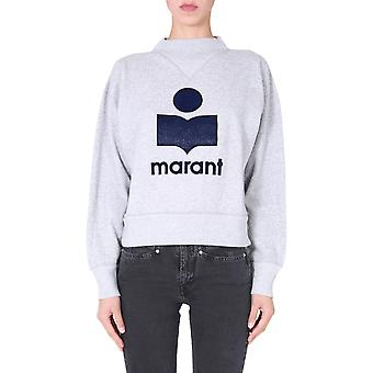 Isabel Marant ÉToile Sw003320a054e02gy Women's Grey Cotton Sweatshirt