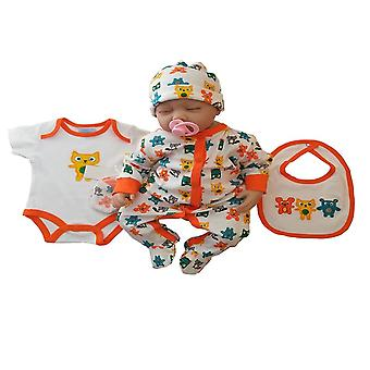 Bib Dress Cotton Baby Sleep And Bodysuit For Clothes Set