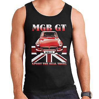 MG GT Sport The Real Thing British Motor Heritage Men's Vest