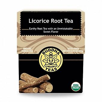 Buddha Teas Licorice Root Tea, 18 Bags
