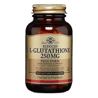 Solgar Reduziertes L-Glutathion, 250 mg, 60 V Kapseln