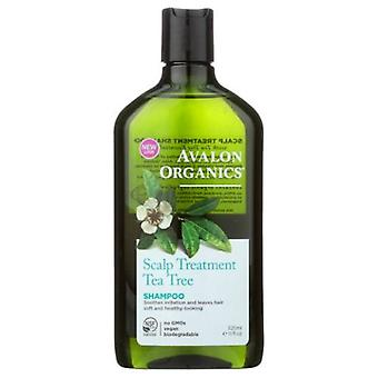 Avalon Organics Shampoo Tea Tree Scalp Treatment, 11 fl oz