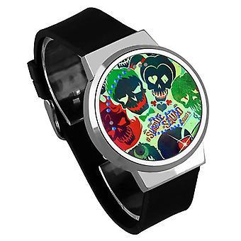 Impermeable luminoso LED Digital Touch Reloj niños - Suicide Squad #6