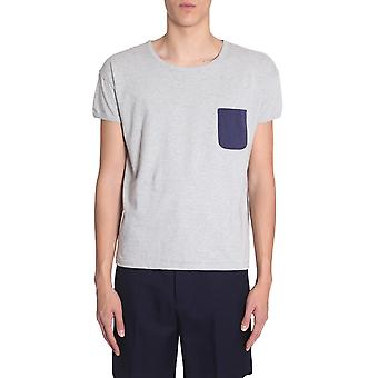 Visvim 0118105010027grey Men's Grey Cotton T-shirt