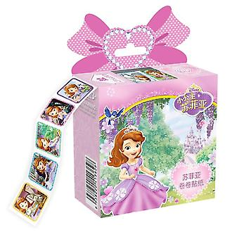 Autocollants amovibles Princess Scrapbooking- Notebook Décoration Autocollants jouets
