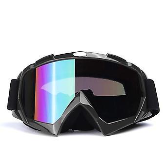 Goggles Double Layers Uv Anti-fog Big Mask Glasses Snowboard Eyewear