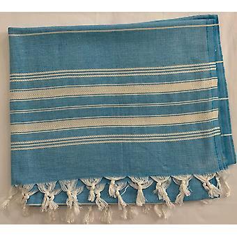 Aqua Perla Summer Breeze Serviette turque Bleu Peshtemal Cotton