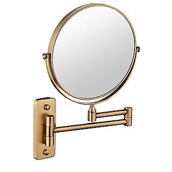 Dubbel Face 7x Väggmonterad spegel utdragbar