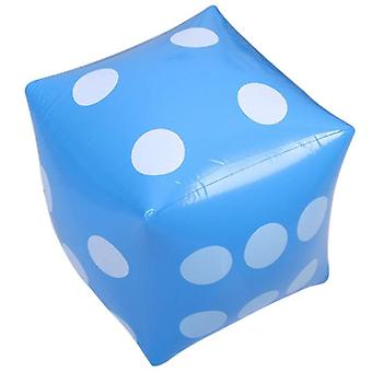 Funny Outdoor Inflatable Dice Swimming Pool Party Fournitures pour adultes Jouer Cube
