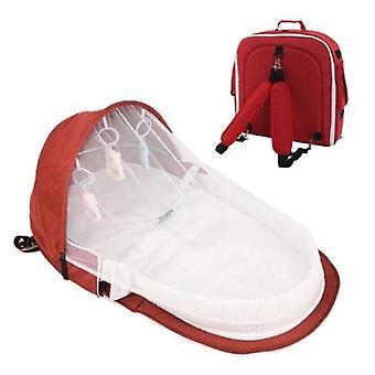 Portable Baby Crib/bed For Newborn,  Folding Travel Beds/nest Infant Bassinet
