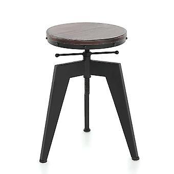 Natürliche Kiefer Holz Top Schwenk küche Sitzender Stuhl