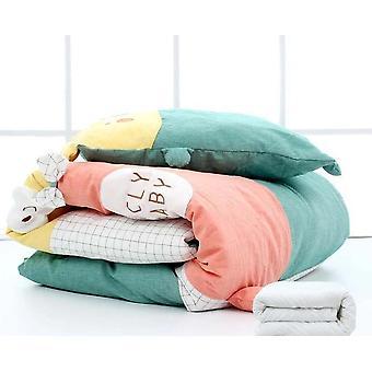 nyfødt sovende swaddle teppe, dyne bebe wrap sengetøy quilt