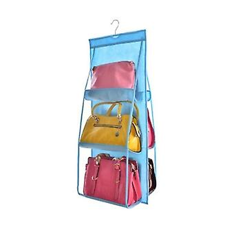Anti Dust Pocket Folding Hanging Handbag Purse Storage Holder Organizer
