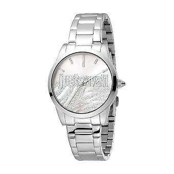 Just Cavalli Women's Firma Silver Dial Stainless Steel Watch
