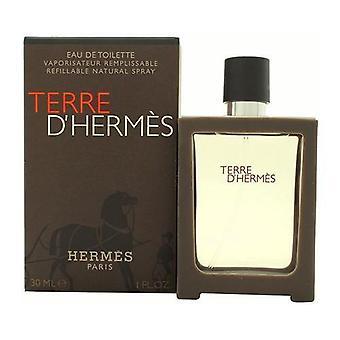 Hermes Terre D'Hermes Eau de Toilette Spray nachfüllbar 30ml