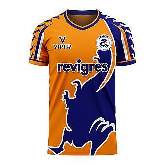 Porto 2020-2021 Away Concept Football Kit (Viper)