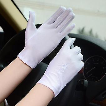 Nový elegantný štýl sun protection čipka duté rukavice príslušenstvo